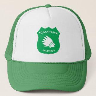 Tomahawk American Crest - Cheers Green Trucker Hat