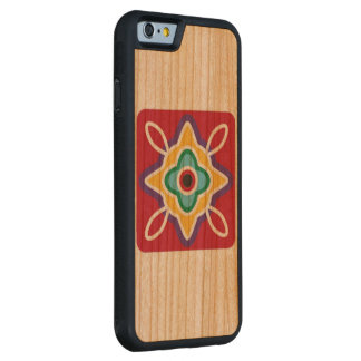 Tomaquag Logo Wood Cell Phone Case