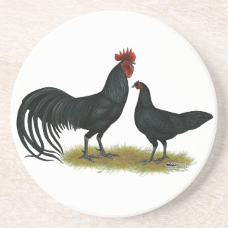 Tomaru Long Crower Chickens Coaster