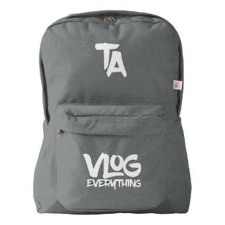 Tomas Asher Vlog Everything Backpack