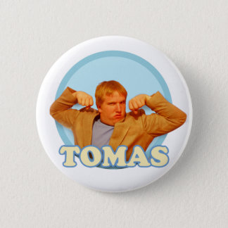 Tomas! Yeah! 2 Inch Round Button