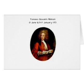 Tomaso Giovanni Albinoni Card