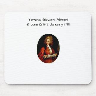 Tomaso Giovanni Albinoni Mouse Pad