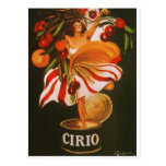 Tomates de l'Italie - du Cirio Cartes Postales