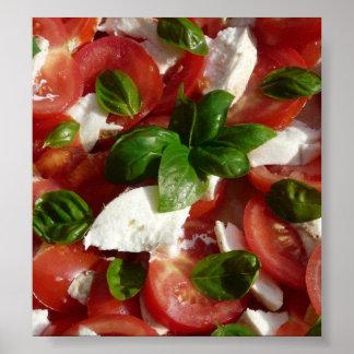 Tomato and Mozzarella Salad Poster