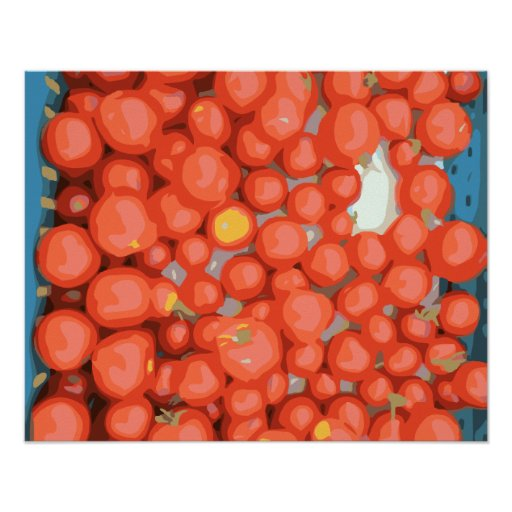Tomato Batches, Ripe and Juicy Posters