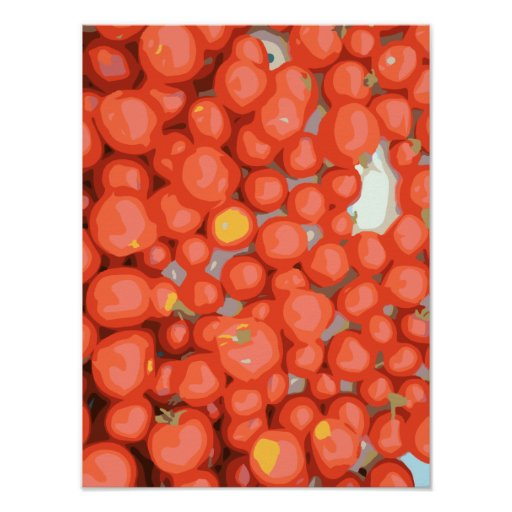 Tomato Batches, Ripe and Juicy Poster