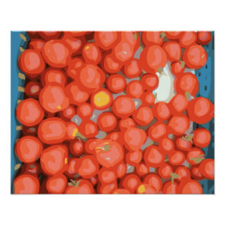 Tomato Batches Ripe and Juicy Posters