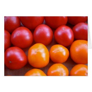 Tomato Blank Card
