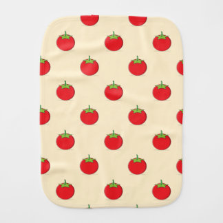Tomato Burp Cloth