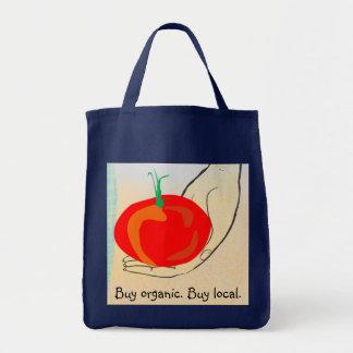 Tomato 'Buy organic. Buy local' Bag