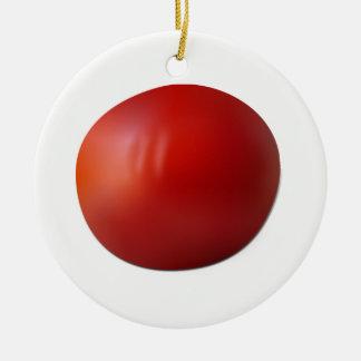 Tomato Ceramic Ornament