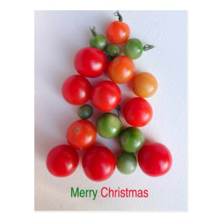 Tomato Christmas Tree Postcard 2016