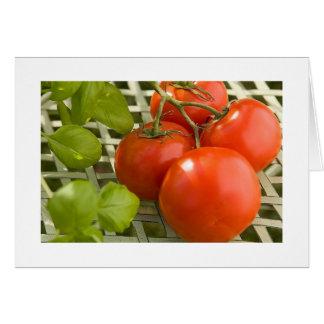 Tomato Cluster Card