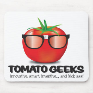 Tomato Geek Stuff Mouse Pad