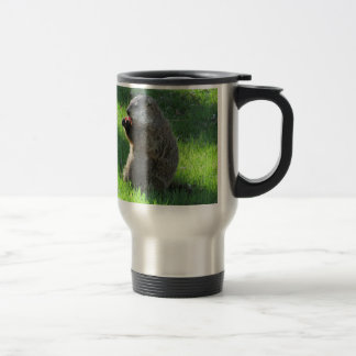 Tomato Groundhog Travel Mug