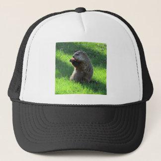Tomato Groundhog Trucker Hat