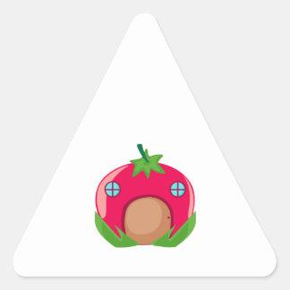 Tomato Home Triangle Sticker