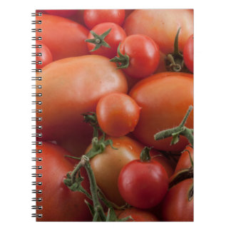 Tomato Mix Spiral Notebook