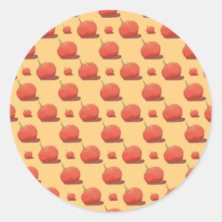 Tomato Pattern - Sticker