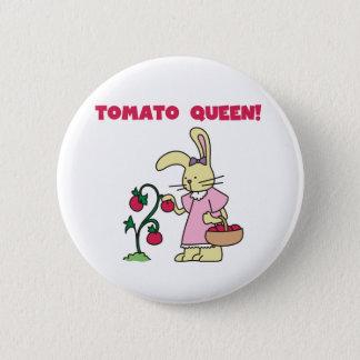 Tomato Queen 2 Inch Round Button