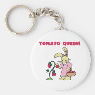 Tomato Queen Keychain