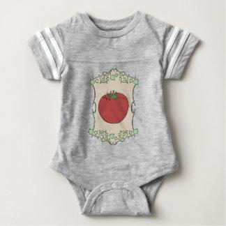 Tomato Seeds Baby Bodysuit