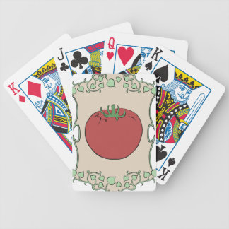 Tomato Seeds Bicycle Playing Cards