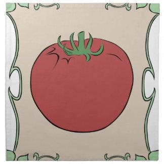 Tomato Seeds Napkin