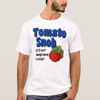 Tomato Snob Funny Gardener T-shirt