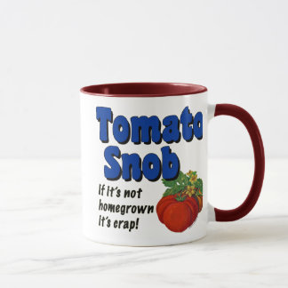 Tomato Snob Funny Saying Coffee Mug
