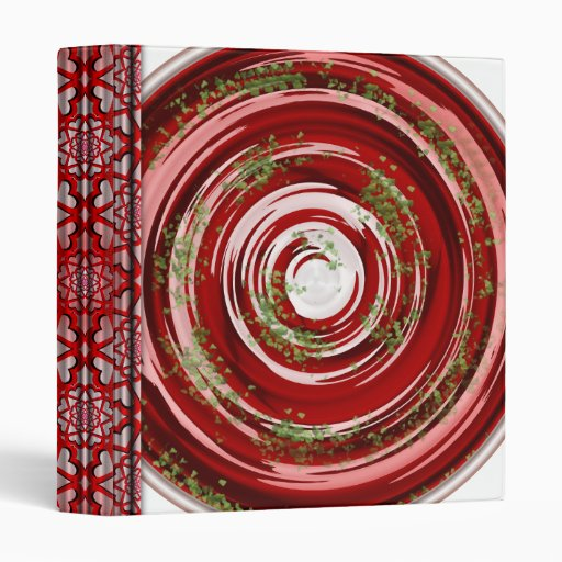 Tomato Soup 3 Ring Binders
