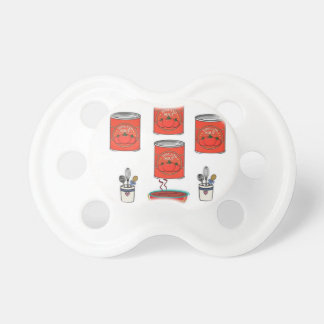 Tomato Soup infant pacifier baby