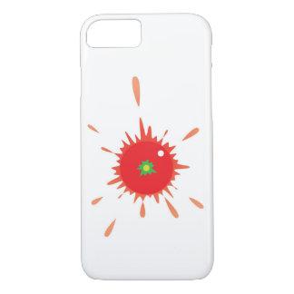 Tomato Splatt! iPhone case