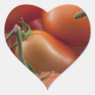 Tomato Stems Heart Sticker