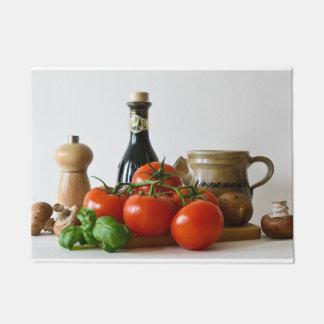 Tomato Still Life Doormat