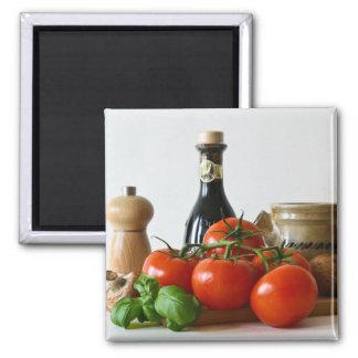 Tomato Still Life Magnet