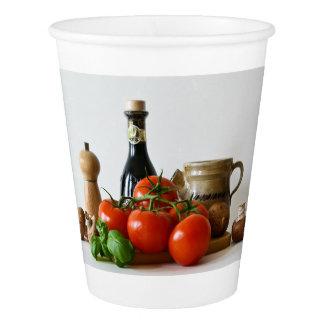 Tomato Still Life Paper Cup