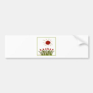 Tomato Sunshine Bumper Sticker