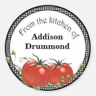 Tomatoe canning labels
