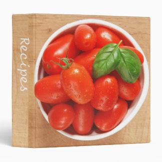 "Tomatoes 1.5"" Recipe Binder"