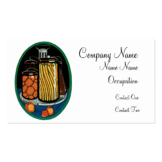 Tomatoes and Pasta Bueinss Card Business Card