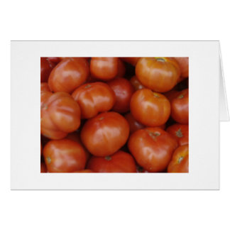 Tomatoes at the Green Market, Schenectady NY Note Card