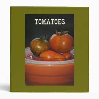 Tomatoes Avery Binder