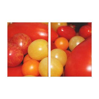 Tomatoes Beauty Canvas Print