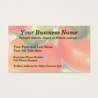 Tomatoes Close Up Business Card