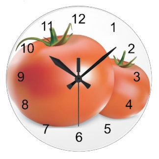 Tomatoes Design Wall Clock