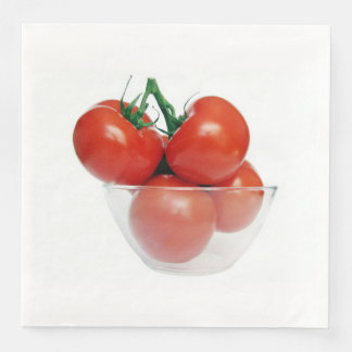 tomatoes disposable napkins