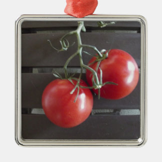 Tomatoes Metal Ornament