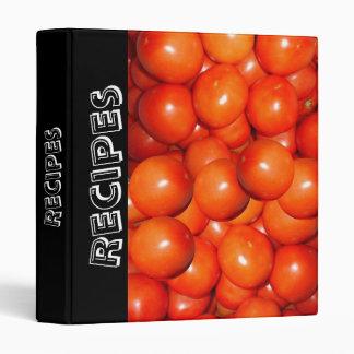 Tomatoes Recipe Binder